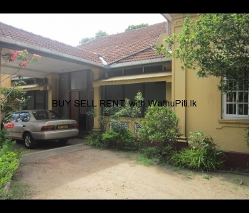 Land with House for sale Colombo 8